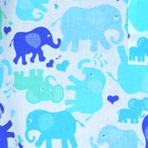 słonie niebieskie