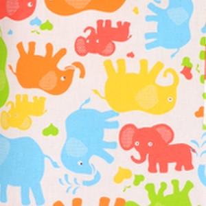słonie kolorowe